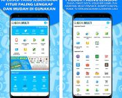 aplikasi android global multi