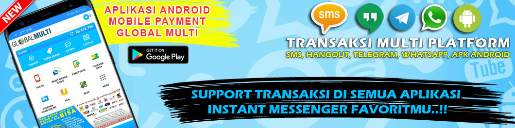 APLIKASI ANDROID MOBILE PAYMENT GLOBAL MULTI